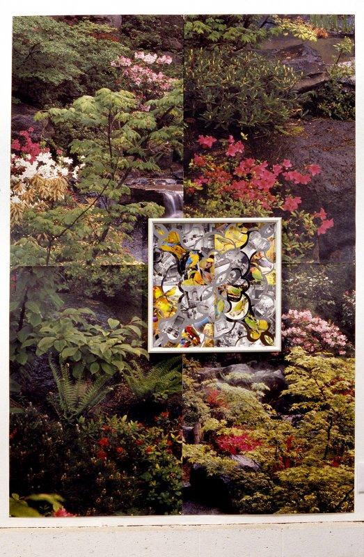 Installation View Forest of Lions Garden, Ca 2003