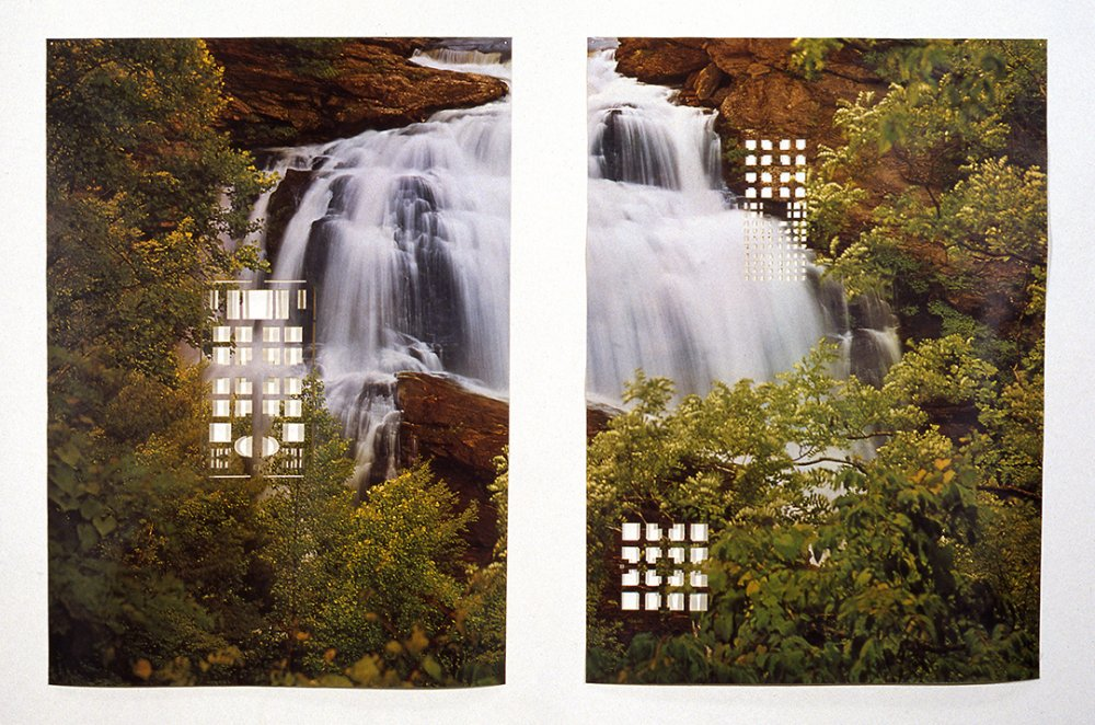 Woodland Waterfall/Mughul Paradise Gardens, 1997