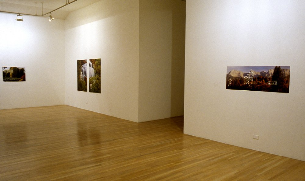 Installation view LASCA Gallery Los Angeles, 1997