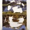 Mountain Reflections/Saiho-Ji Temple, 1998