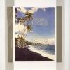 Kalapana Beach, Hawaii/Classic Seven Coil Labyrinth, 2000