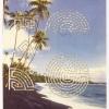 Kalapana Beach, Hawaii/Classic Seven Coil Labyrinth, 2000, Detail