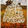 California Poppy Reserve/Turf Maze, Dorset, England, 1997, Detail