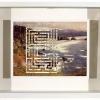 Oregon Coast/True Maze, Cambridgeshire, 2000, Cut Print in Shadow Box Frame