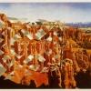 "Bryce Canyon, Utah/""The Wilderness"" Hampton Court, London, 1998, Detail"
