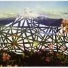 Mt. Hood, Oregon/Bois de Boulogne, Paris, 1997, Detail