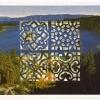Cut Print in Shadow Box Frame, c. 1999, Detail