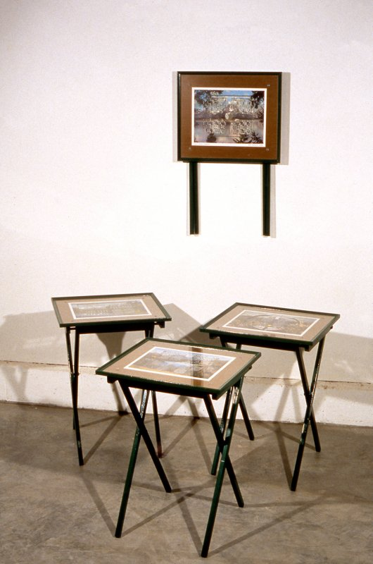 Installation view, Works on Paper, 1999